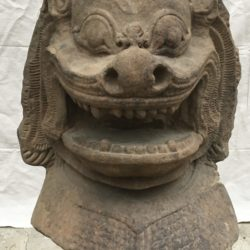 Khmer Lion Head circa 1000ad-1200ad