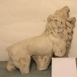Roman fountain fragment : The lion's roar, ca.