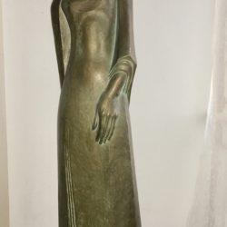 """Ernst Barlach [1870-1938] German artist """"Woman""""circa 1920's"""