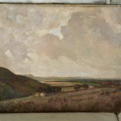 """Hugh C Ford [ early 20th century] English """" Outside Amersham, Buckinghamshire """" circa 1920"""