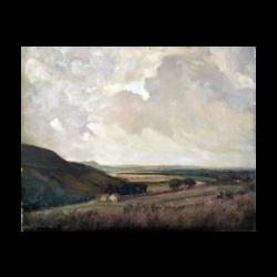 Hugh C Ford [early 20th century] English : Outside Amersham, Buckinghamshire, ca.1920.