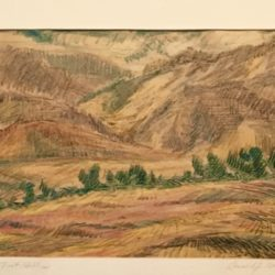 Donald J Bear [1905-1952] : Foot hills, 1945.
