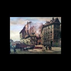 Carl Winzel Zajicek [1860-1923] : Vienna streets, ca.1890s.