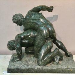 "Ferdinando Vicchi [1875 - 1945] Italian Sculptor ""The Wrestlers"" circa 1900"