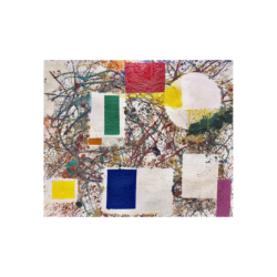 Taro Yamamoto [1919-1994] American : Untitled, ca.1960.