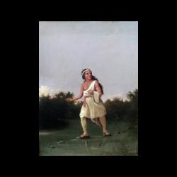 Albertus Del Orient Browere [1814-1887] American : Young Indian Princess, ca.1850.