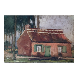 [unattributed] Dutch : Willem's home, ca.1890s.