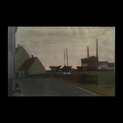 [unattributed] :Modernist cityscape, 1943.