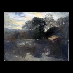 Bartow Van Voorhis Matteson [1894-1984] American : New York landscape, 1918.