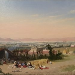 Conrad Wise Chapman [1842-1910] : Valley of Mexico, 1860.