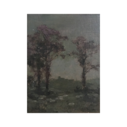 [unattributed] : Tonalist landscape, ca.1889.
