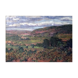 [unattributed] : Spanish landscape, ca.1900.
