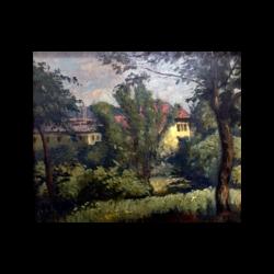 Antal Berkes [1874-1938] Hungarian : Vienna, Austria, ca.1890s-1900.