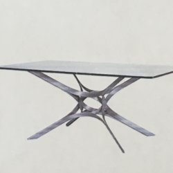 Roger Sprunger [1920-2008] American : Coffee table for Dunbar, ca.1970s.