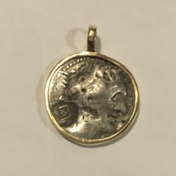 [unattributed] Greek coin : Ancient silver Tetradrachm coin ca.305-283 B.C.