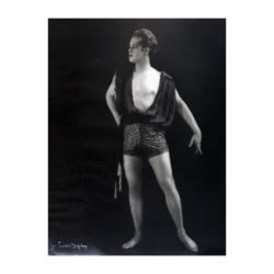 "Lou Adelaide Goodale Bigelow [1884-1968] : Photo of dancer choreographer Edwin ""Ted"" Myers Shawn [1891-1972], ca.1917-ca.1924."