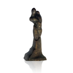 [unattributed] American school : Modernist nude bronze, ca.1915-1920.
