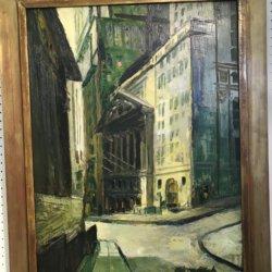 [unattributed] American school : Wall Street, ca.1940.