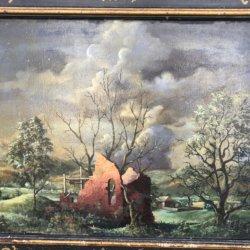 Paul Crosthwaite [1910-1981] American landscape : Landscape, 1947.