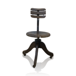 Cook Quality [active 1897] : Industrial design chair, 1897.