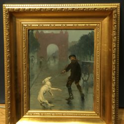 Jose Segrelles [1855-1969] Spanish/English artist : We need to go, ca.1930s.