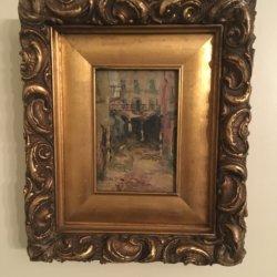 Aaron Butler Dikeman III [1868-1942] : Parisian street, ca.1880s.