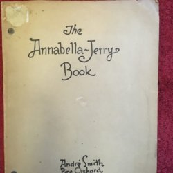 Andre Smith [?-?] Pine Orchard, CT original book : The Annabella-Jerry Book,ca.1950s.