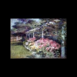 Alice Stackpole [1867-1949] : Garden, ca.1930s.