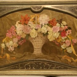 [unattributed] : Bouquet of flowers, 1908.