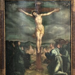 [unattributed] Spanish school : The crucifixion, ca.1650.